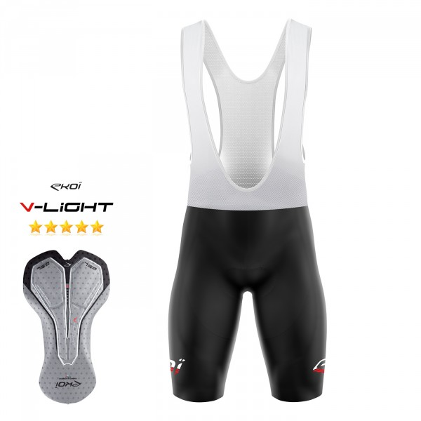 BIBSHORT EKOI LINEA Red