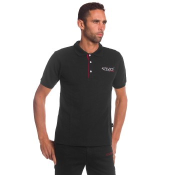 EKOI RACING Black Polo