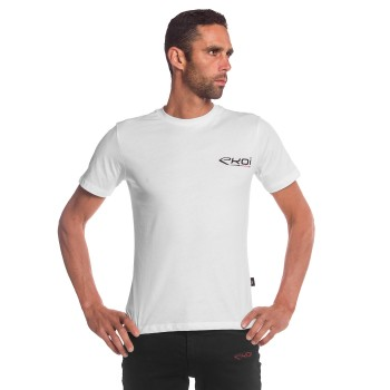 T-Shirt EKOI RACING Weiß
