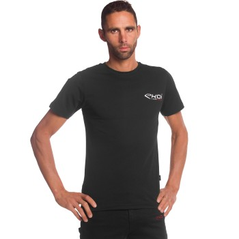 T-Shirt EKOI RACING Schwarz
