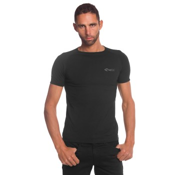 Tshirt  EKOI Black  Chrome