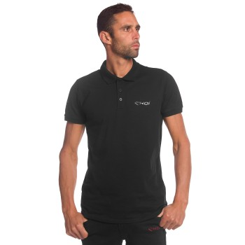 Polo  Shirt EKOI  Black Chrome