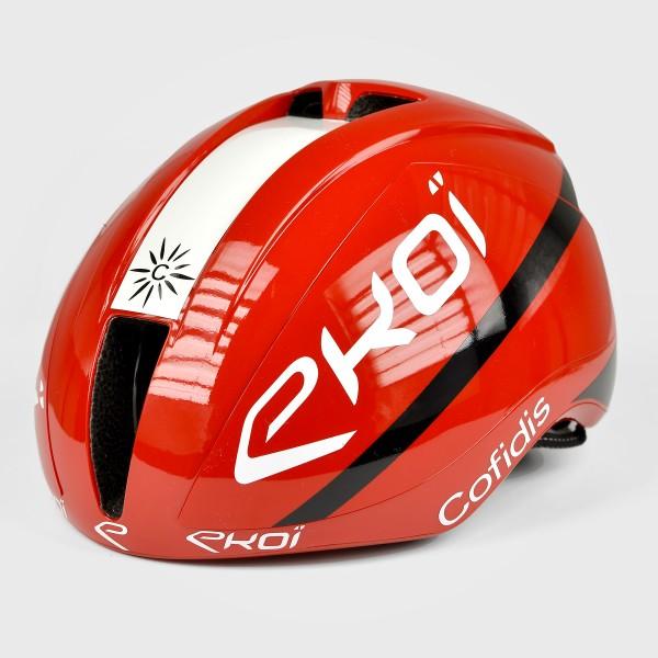 EKOI AR15 ヘルメット Proteam COFIDIS レッド