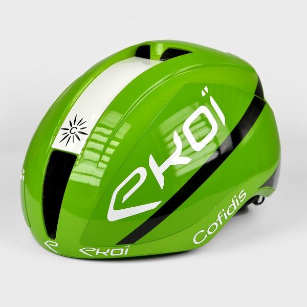 Casque EKOI AR15 Proteam COFIDIS Vert