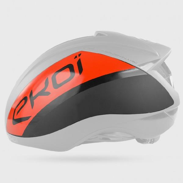 EKOI AR15 磁器装着シェル ブラック/レッド