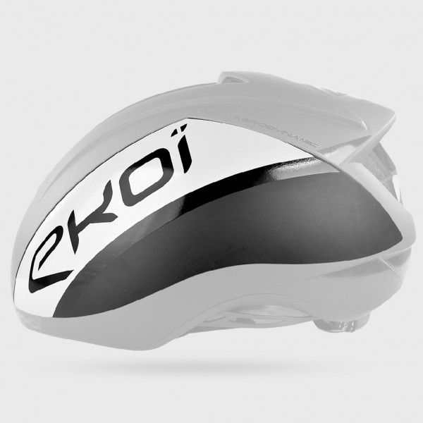 EKOI AR15 磁器装着シェル ブラック/ホワイト
