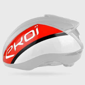 Shell  EKOI AR15 White/Red