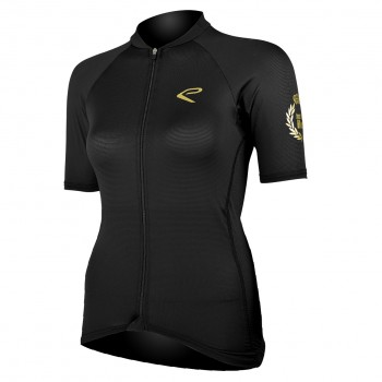 SHIRT EKOI LADY LUXE BLACK GOLD JUST FOR HER