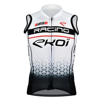 EKOI  SLEEVELESS JERSEY RACING WHITE