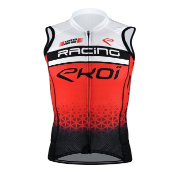 EKOI SLEEVELESS JERSEY RACING RED