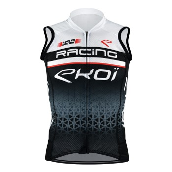 EKOI SLEEVELESS JERSEY RACING BLACK