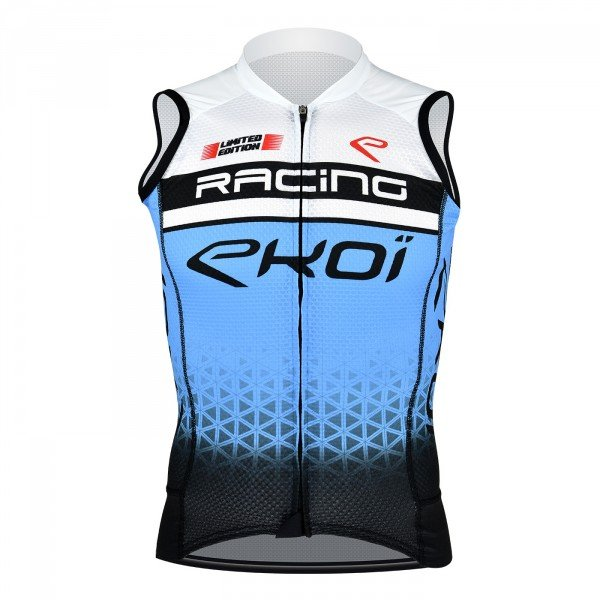 EKOI SLEEVELESS JERSEY RACING BLUE