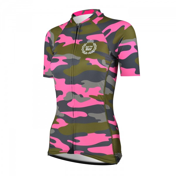Ladies Jersey EKOI JUST FOR HER KAMO PINK