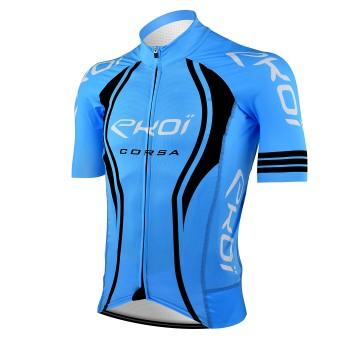 Maillot vélo EKOI CORSA LTD Bleu