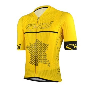 Maillot ciclismo EKOI FAN LTD 2020 Amarillo