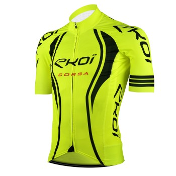 Cycling Jersey  EKOI CORSA LTD  Neon Yellow
