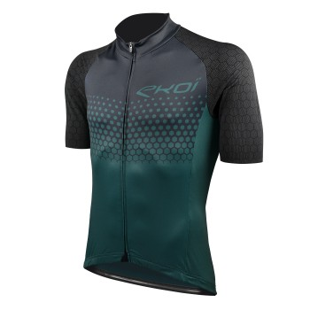 JERSEY EKOI MTB XC GREEN/BLACK CERAMIK SUMMIT