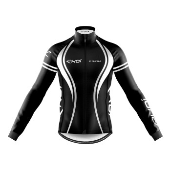 WINTER JACKET EKOI CORSA BLACK/WHITE