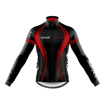 WINTER JACKET EKOI CORSA BLACK/RED