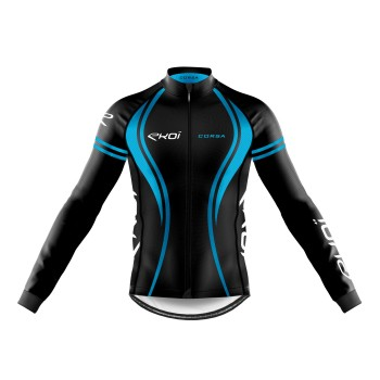 WINTER LONG SLEEVES  JERSEY EKOI CORSA BLUE