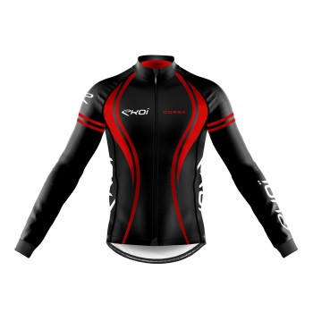 WINTER LONG SLEEVES  JERSEY EKOI CORSA RED
