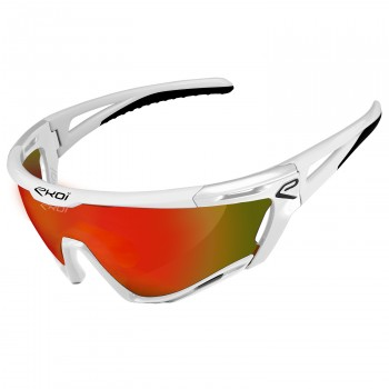 Gafas PERSOEVO9 EKOI LTD LIGHT Blanco Revo Rojo