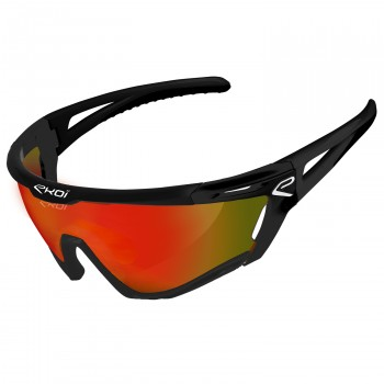 Glasses PERSOEVO9 EKOI LTD LIGHT Black mat Revo Red