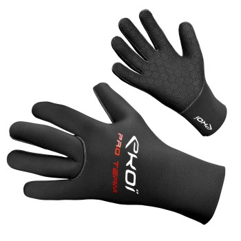 Winter Gloves EKOI NEOPRENE WINTER Black