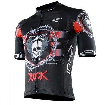 Maillot vélo PRO EKOI ROCK SKULL