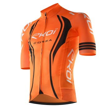 Cycling Jersey  EKOI CORSA LTD Neon Orange