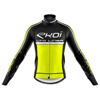 Winter Thermal jacket EKOI LINEA LTD  Neon Yellow