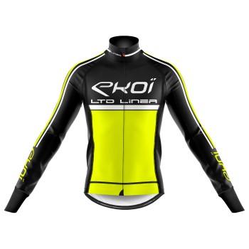 Zimní termo bunda EKOI LINEA LTD Neonově žlutá