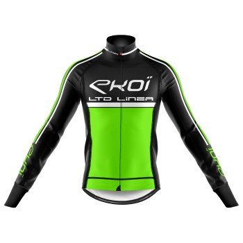 Winter Thermal jacket EKOI LINEA LTD Neon Green