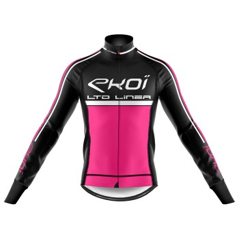 Winter Thermojacke EKOI LINEA LTD Neon Pink