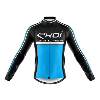 Winter Long Sleeves Jersey  EKOI LINEA LTD Blue