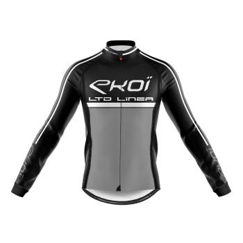 Zimní dres EKOI LINEA LTD černo šedý