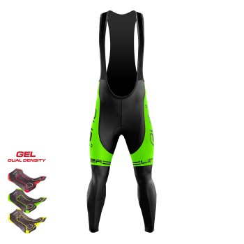 Winter Bibtights Gel 3D EKOI LINEA LTD Neon Green