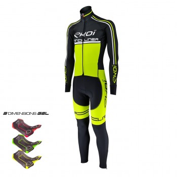 WINTER  SKINSUIT EKOI LINEA LTD GEL 3D NEON YELLOW