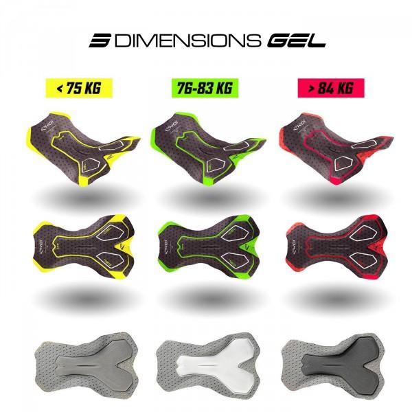 Combinaison hiver Gel 3D EKOI LINEA LTD Rouge