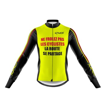 MAILLOT ML WINTER EKOI PROTECT AMARILLO FLUO