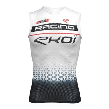 MAILLOT SPINNING EKOI RACING BLANCO