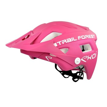 EKOI MTB TRAIL Helm  FOREST Rosa
