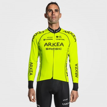 Winter Jersey EKOI ARKEA SAMSIC Pro Team Yellow