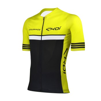 Cycling jersey EKOI ENDURANCE Yellow