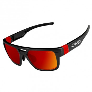 Zwart rode Revo SF SPORT FASHION LTD bril