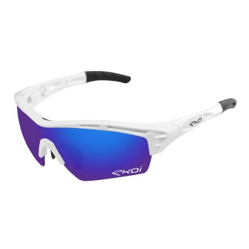 GLASSES EKOI PERSOEVO 4 WHITE REVO BLUE