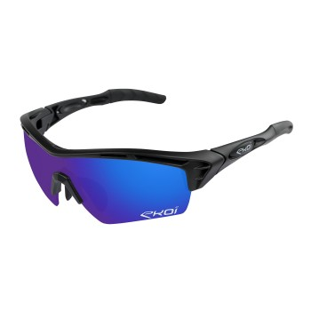 GLASSES  EKOI PERSOEVO 4 BLACK MATT REVO BLUE