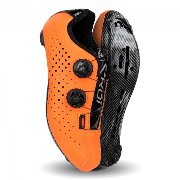 Chaussures route EKOI R4 EVO Orange fluo