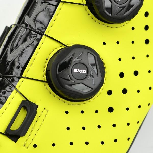 Chaussures route EKOI R4 EVO Jaune fluo