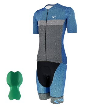 Cycling Pack  EKOI GEOMETRIK  Blue